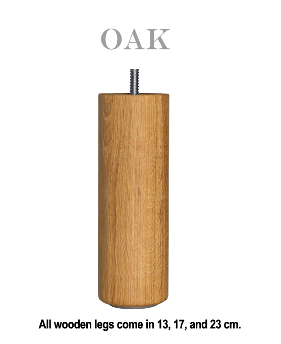 Oak an Exclusive Carpe Diem Beds of Sweden Bed Leg.