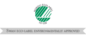 Swan Eco label environmentally approved