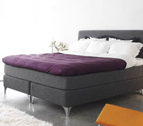 Harmano Bed by Carpe Diem Beds of Sweden