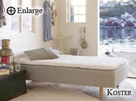 Koster Bed by Carpe Diem Beds of Sweden