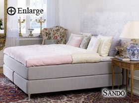 Sandö Bed by Carpe Diem Beds of Sweden
